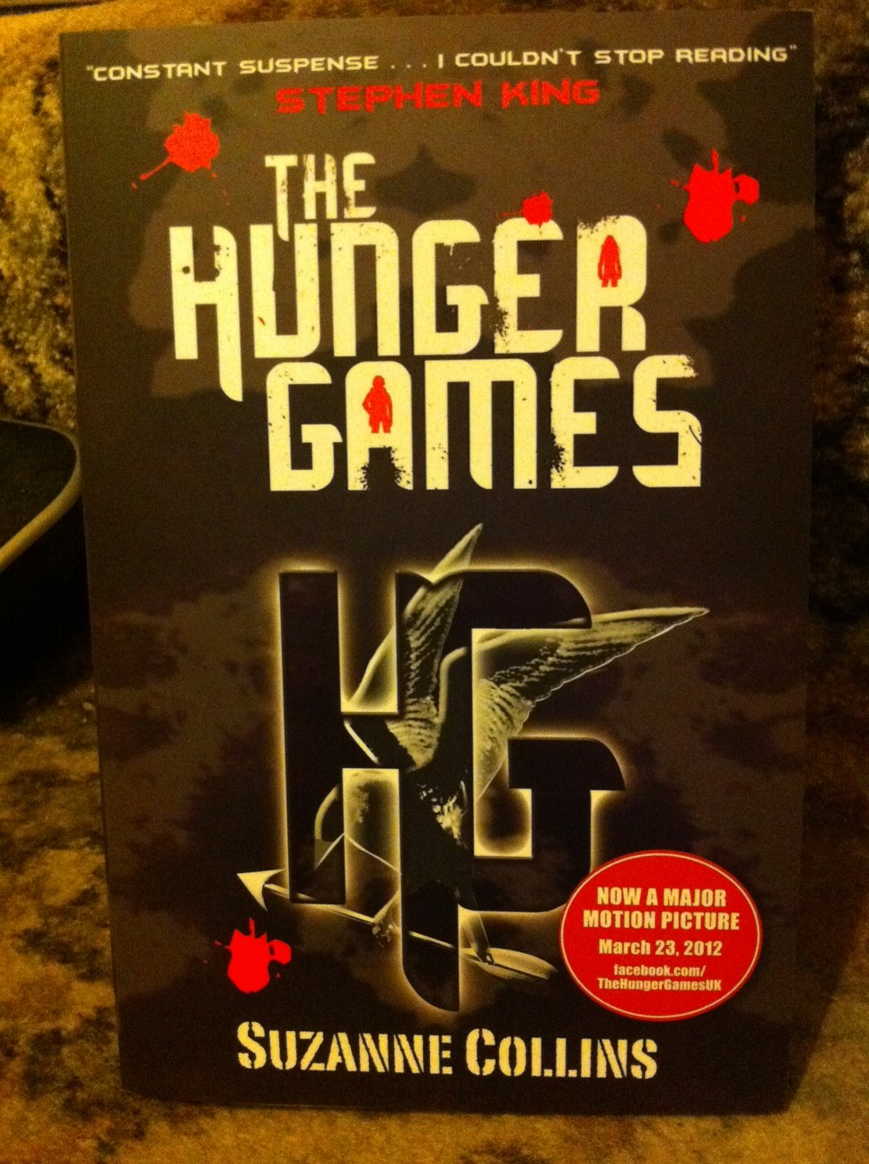 an analysis of the novel the hunger games by suzanne collins Sara petersson 1 introduction the popularity of the hunger games trilogy written by suzanne collins did not come at once in fact, it was not until the final novel was about to be published that the success of the.
