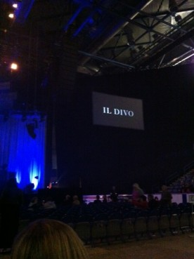 Went to see Il Divo with my Dad