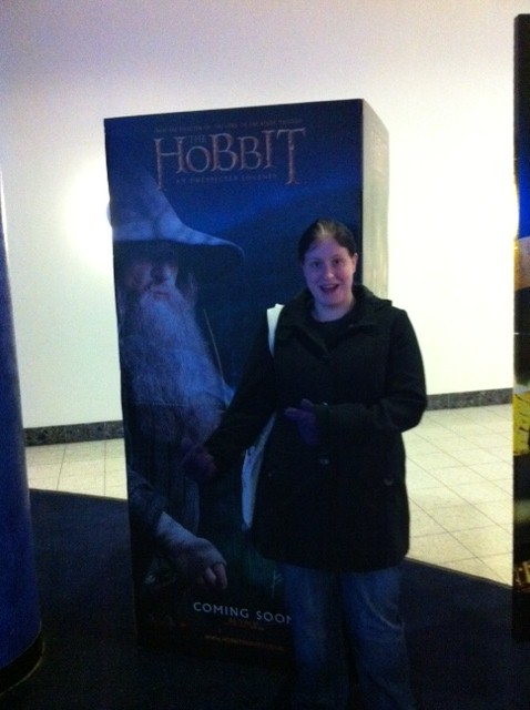 Saw The Hobbit with Abi